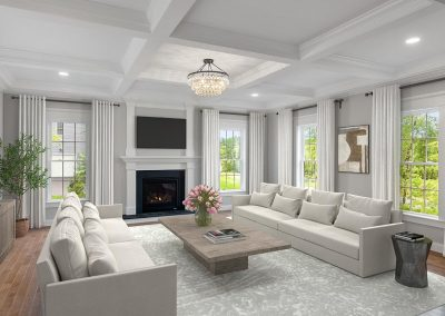 Family Room (Virtually Staged)
